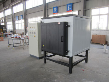 China Max 1400℃ High Temperature Box Furnace , Lab Muffle Furnace White Color factory