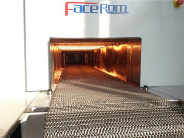 China Mesh Belt Infrared Drying Oven High Efficiency In Curing And Degumming distributor