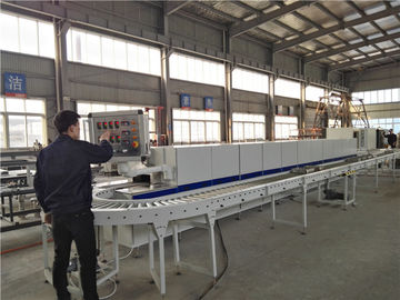 China Mesh Belt Chain Type Glass Packaging Furnace In Annealing Of Metal Components distributor
